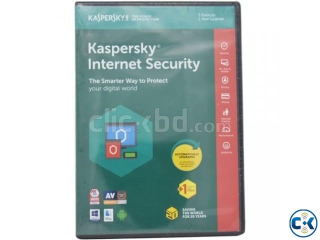 Kaspersky Internet Security 3-User With Gift Stock  | ClickBD large image 0