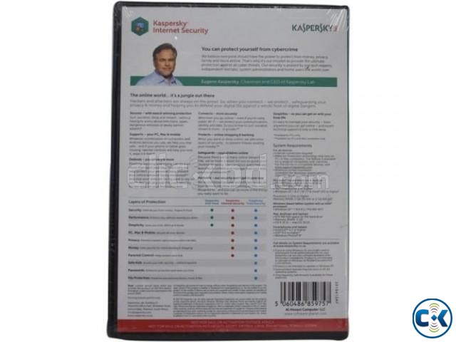 Kaspersky Internet Security 3-User With Gift Stock  | ClickBD large image 1