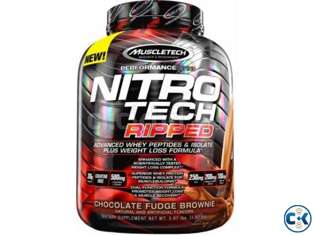 NitroTech Ripped Whey Protein Isolate Powder in Bangladesh | ClickBD large image 0