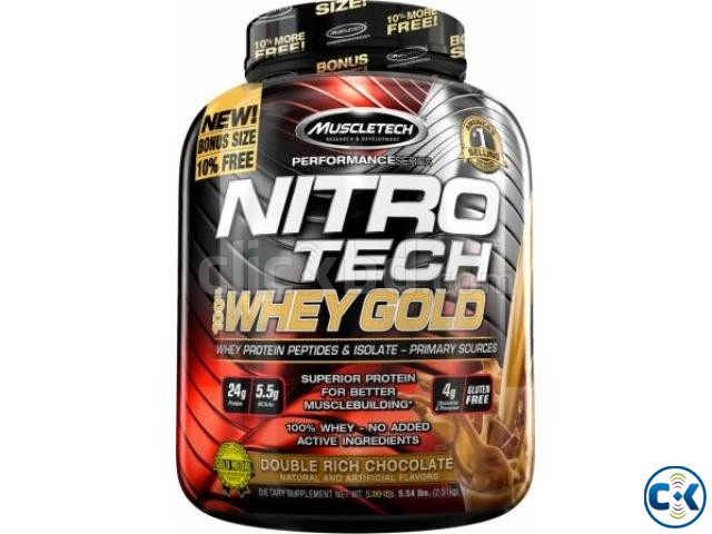 NITRO-TECH 100 Whey Gold 5.5Lbs in Bangladesh | ClickBD large image 0