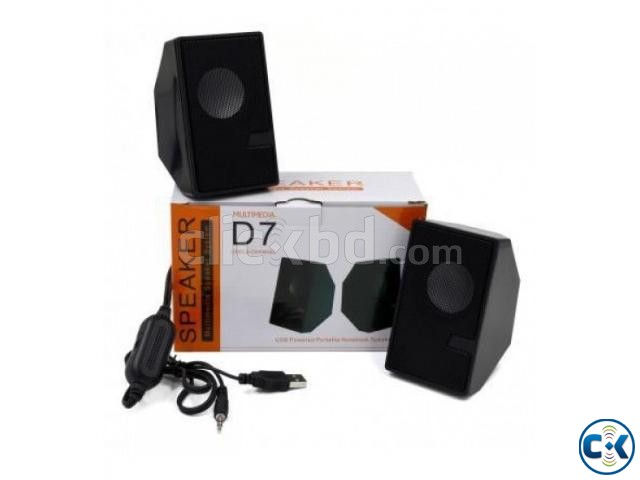 D7 Multimedia Speaker | ClickBD large image 2