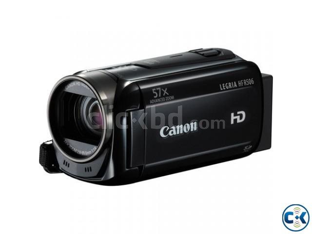 Canon LEGRIA HF R506 Full HD Camcorder PAL Black  | ClickBD large image 0