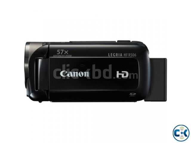 Canon LEGRIA HF R506 Full HD Camcorder PAL Black  | ClickBD large image 1
