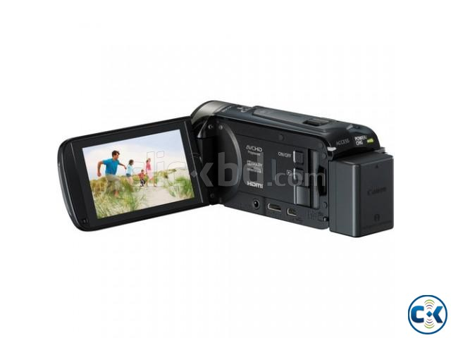 Canon LEGRIA HF R506 Full HD Camcorder PAL Black  | ClickBD large image 2