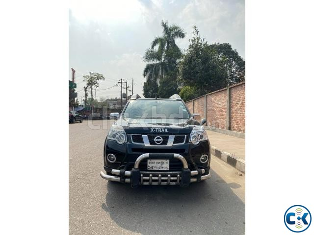 NISSAN X-TRAIL 4WD BLACK 2012 | ClickBD large image 0