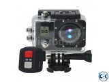 Ultra HD WiFi Action Camera Camcorder Dual Screen Waterproof