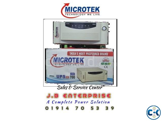 Microtek IPS EB 700 Machine Only | ClickBD large image 1
