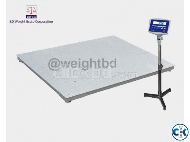 Digital Floor Scale 1 Ton Capacities | ClickBD large image 0