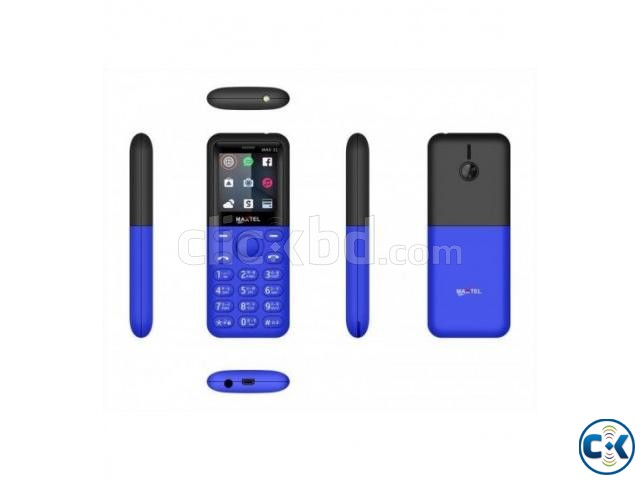 Maxtel Max 11 Dual Sim Mini Phone with Warranty | ClickBD large image 1