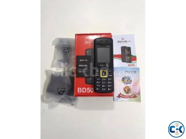 5Star BD50 Dual Sim Feature Phone With Warranty | ClickBD large image 1