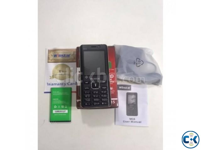 Winstar W15 Dual Sim Feature Phone 2500mAh With Warranty | ClickBD large image 1