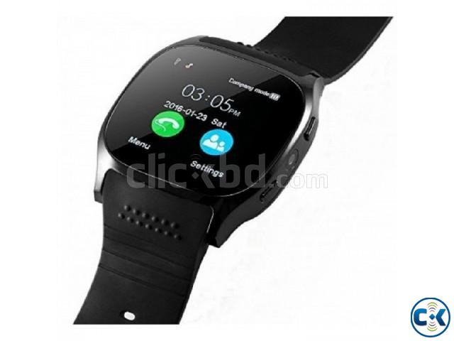 T8 Smartwatch Bluetooth Camera Full Touch | ClickBD large image 2