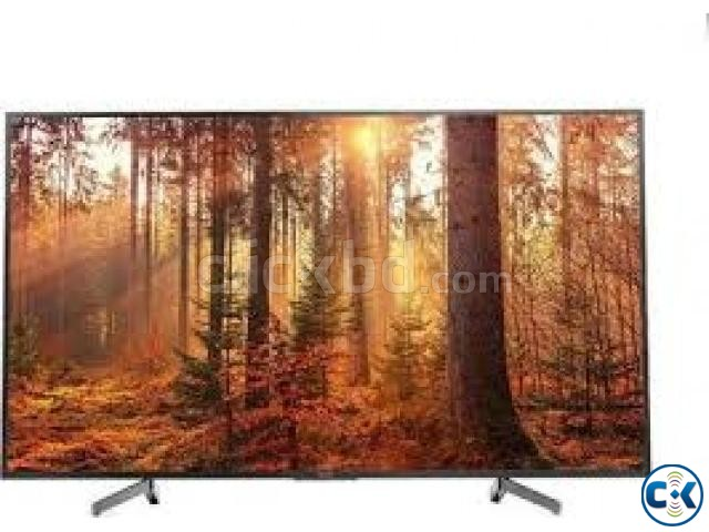 SONY BRAVIA 55X8000G TV 4K HDR Android with Voice Search | ClickBD large image 1