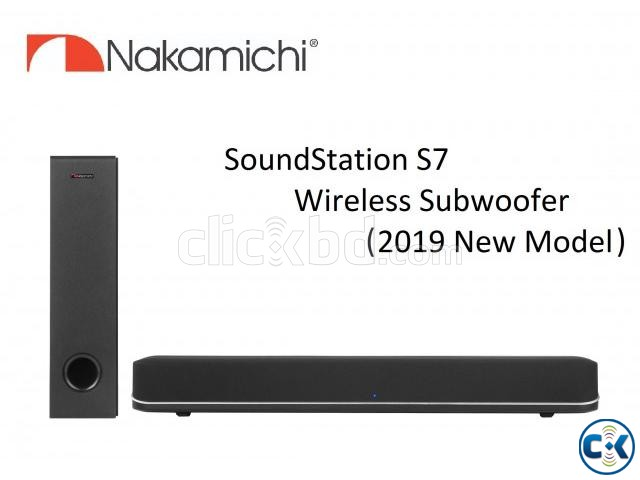 Nakamichi SS-S7 Wireless Soundbar Price in BD | ClickBD large image 1