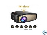 Cheerlux C6 Mini LED Projector With Wifi C TV Card