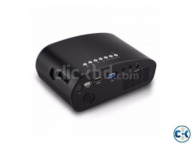 Mini Portable RD802 Home Projector Full HD 1080P | ClickBD large image 1