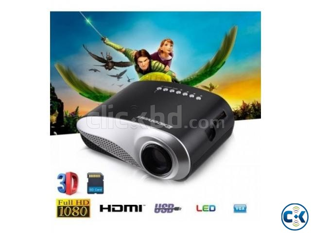 Mini Portable RD802 Home Projector Full HD 1080P | ClickBD large image 2