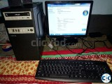 Desktop CPU 17 Monitor keyboard Mouse