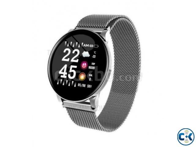 W8 Plus Metal Smart Watch | ClickBD large image 1