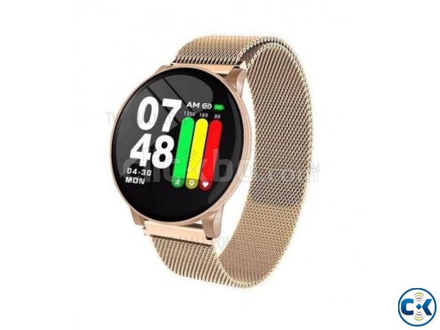 W8 Plus Metal Smart Watch | ClickBD large image 2