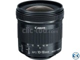Canon EF-S 10-18mm f 4.5-5.6 IS STM Lens-Brand New