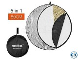 Godox 80cm 31 5 in 1 Collapsible Light Reflector - New