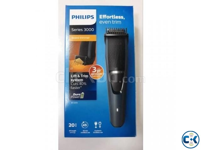 Philips Series 3000 BT3205 15 Men s Trimmer | ClickBD large image 0