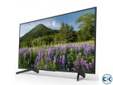 Sony Bravia 49 X7500F 4K Android HDR TV