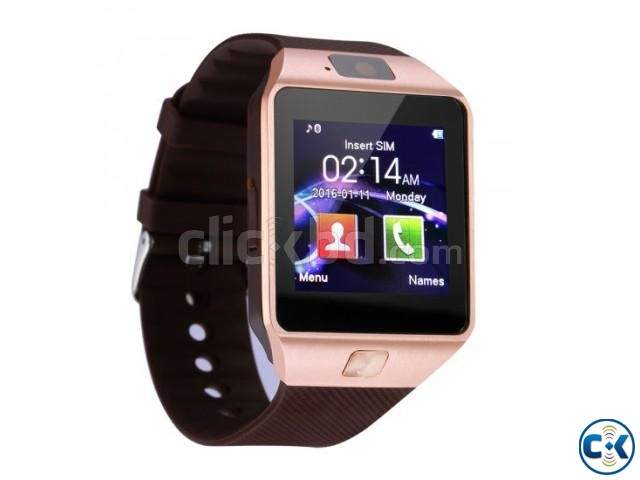 D09 Smartwatch SIM Camera Android Phone Full Touch | ClickBD large image 0