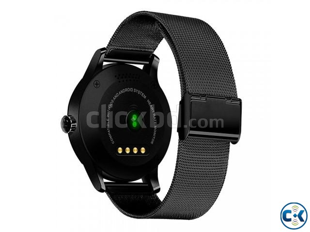 K88 Smartwatch Waterproof Heart Rate Monitor Pedometer | ClickBD large image 1
