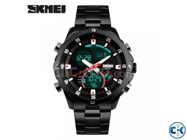 SKMEI 1146 Waterproof Watch Wristwatch Date Led Top Quality | ClickBD large image 1