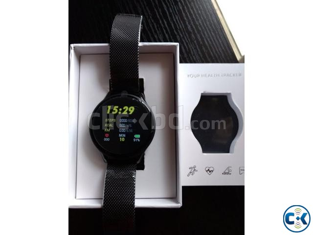 SN58 Smart Watch Waterproof Heart Rate Blood Pressure 2.5D T | ClickBD large image 3