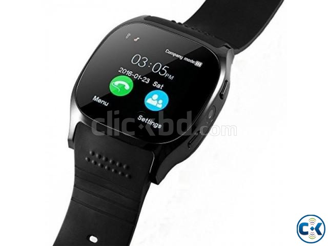 T8 Smartwatch Full Touch Single Sim | ClickBD large image 0