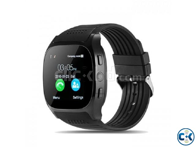T8 Smartwatch Full Touch Single Sim | ClickBD large image 3