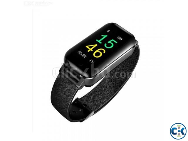 T89 2 in 1 Color Screen Bluetooth 5.0 Wireless Bluetooth Dua | ClickBD large image 4