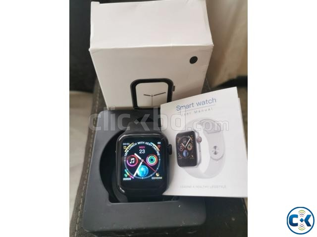 W34 Smartwatch Series 4 Bluetooth 44mm Heart Rate Fitness Tr | ClickBD large image 2