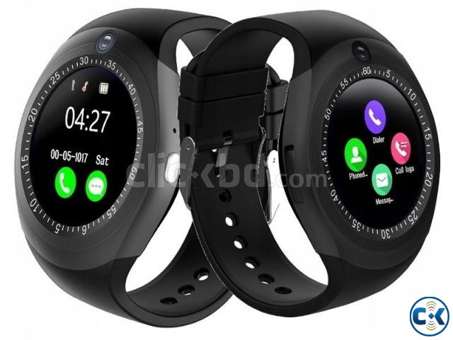 Y1S Smartwatch Support SIM Card And TF Card For IOS Android | ClickBD large image 0