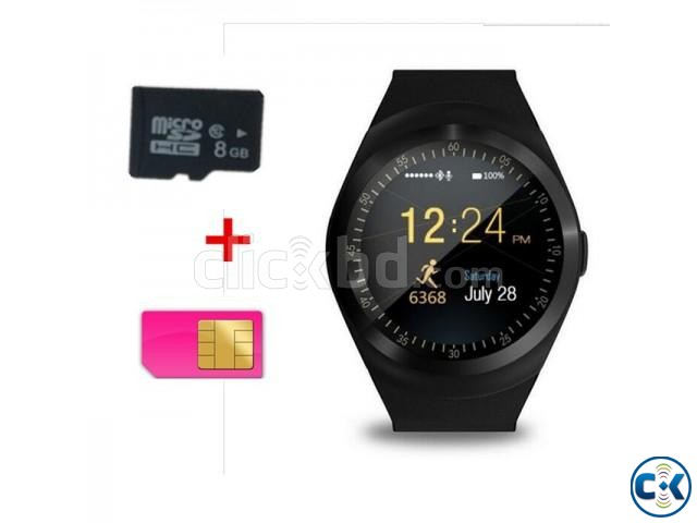 Y1S Smartwatch Support SIM Card And TF Card For IOS Android | ClickBD large image 1