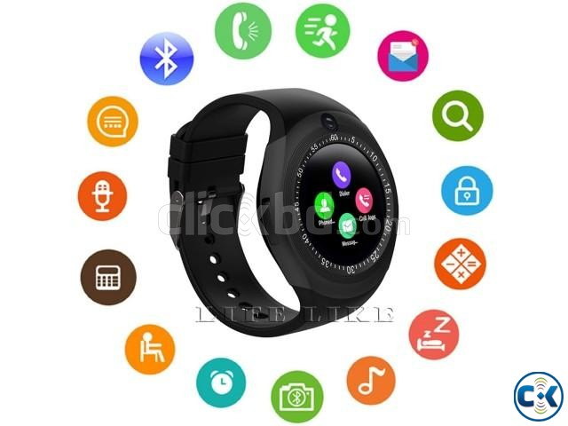 Y1S Smartwatch Support SIM Card And TF Card For IOS Android | ClickBD large image 4