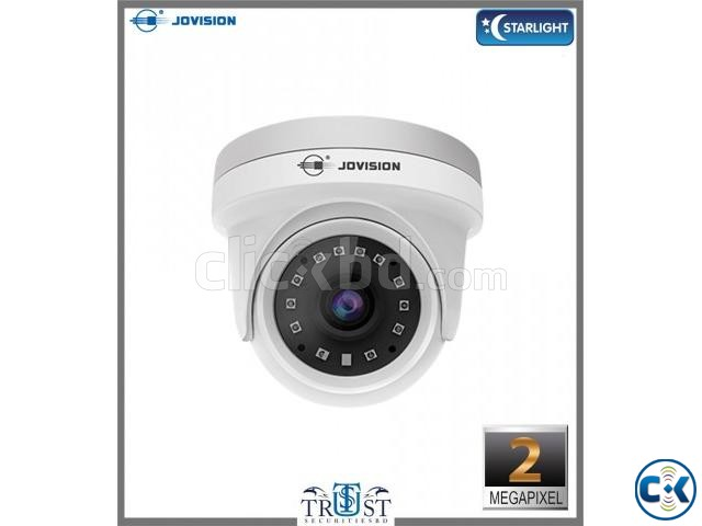 Jovision 2MP Starlight Dome Camera JVS-N835-YWC-R4 | ClickBD large image 0