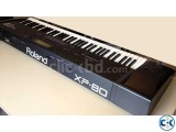 Roland XP-80 Japan with Hard Case Commercial Tones