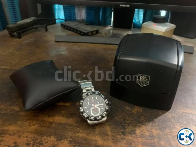 genuine Tag Heuer CAH1110 chrono | ClickBD large image 0