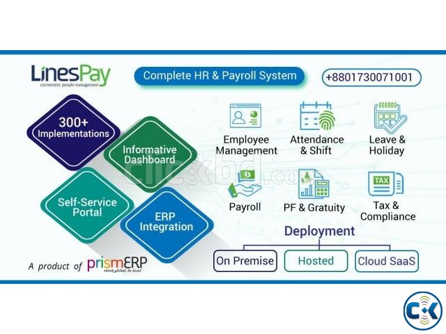 LinesPay Human Resources management system 40 HRIS 41  | ClickBD large image 0