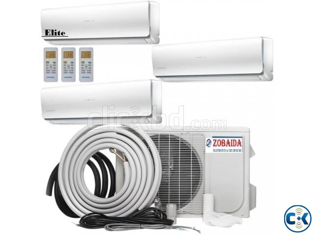 Elite 24000 BTU 2.0 Ton Split Type AC Air Conditioner | ClickBD large image 0