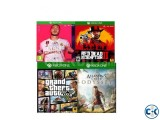 XBOX ONE 4 GAMES