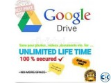 GOOGLE DRIVE UNLIMITED STORAGE