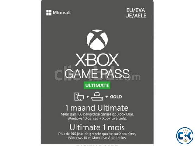 XBOX GAME PASS ULTIMATE 1 MONTH | ClickBD large image 0