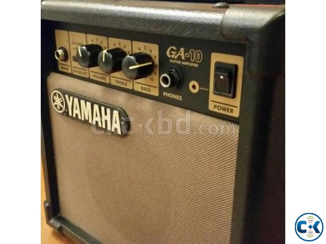 YAMAHA GA-10 Guitar Amplifier Original New Condition  | ClickBD large image 0