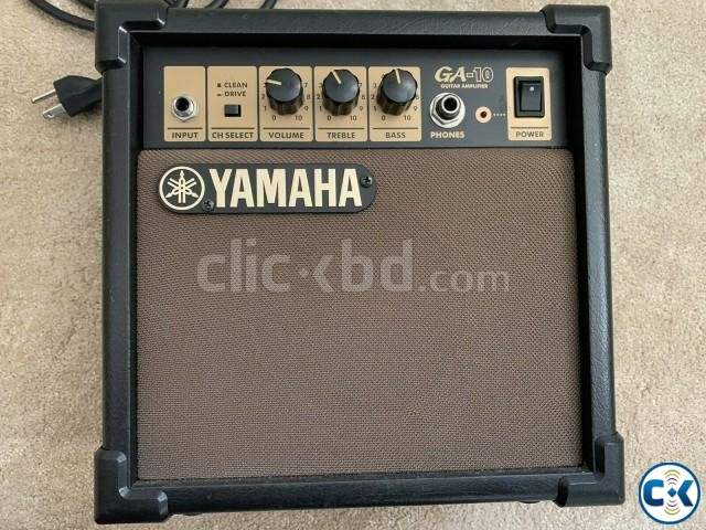 YAMAHA GA-10 Guitar Amplifier Original New Condition  | ClickBD large image 1