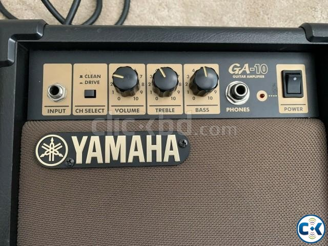 YAMAHA GA-10 Guitar Amplifier Original New Condition  | ClickBD large image 4